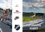Sparta Copenhagen Games - Sparta.dk