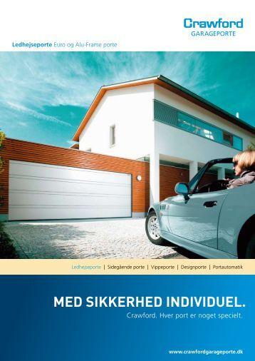 MED SIKKERHED INDIVIDUEL. - Crawford Garageporte