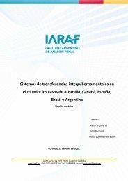 los casos de Australia, Canadá, España, Brasil y Argentina