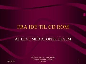 FRA IDE TIL CD ROM