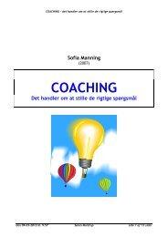 Coaching – Det handler om at stille de rigtige spørgsmål