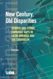 New Century, Old Disparities - del Centro de Documentación e ...