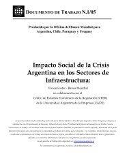 Impacto Social de la Crisis Argentina en los Sectores de ...