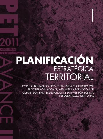 PLANIFICACIÓN ESTRATÉGICA TERRITORIAL - del Centro de ...
