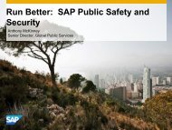 Run Better: Public Safety and Security