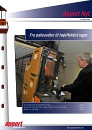Apport Nyt - Apport Systems A/S