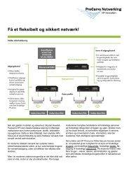 Få et fleksibelt og sikkert netværk!