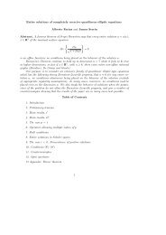 Entire solutions of completely coercive quasilinear elliptic equations ...
