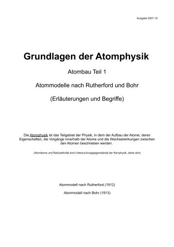 Atombau - Aklimex.de