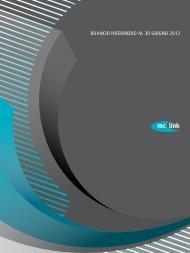 Bilancio Intermedio al 30/06/2012 - MC-link