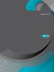 BILANCIO 2011 - MC-link