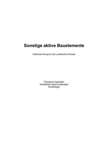 Spannungsregler - Aklimex.de