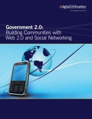 Government 2.0: Building Communities with Web 2.0 and Social ...