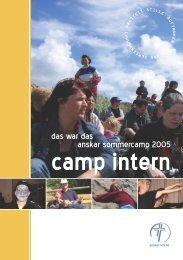 camp intern - Anskar Kirche Deutschland