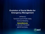 Evolution of Social Media for Emergency Management