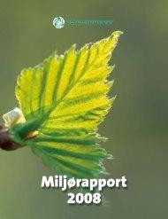 Miljørapport 2008.pdf - Eurovironment