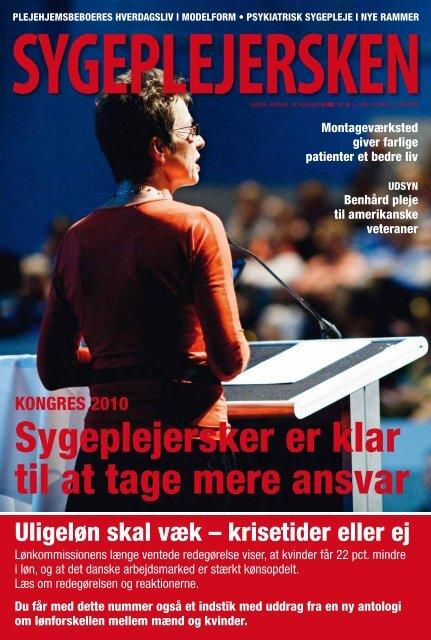 Sygeplejersken 2010 Nr. 11 Dansk Sygeplejeråd