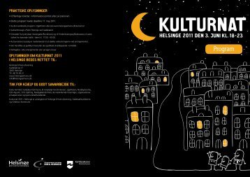 HE Kulturnat program 2011 v2.indd - Helsinge Erhvervsforening