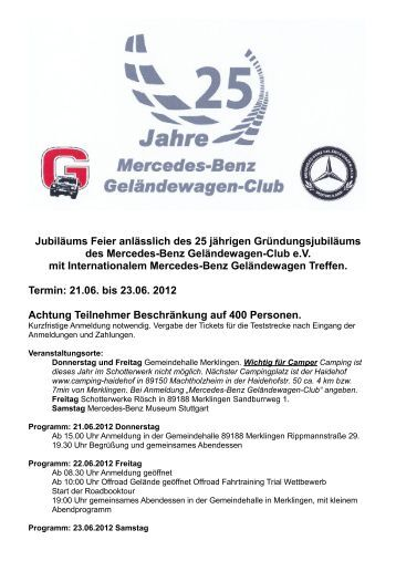 Jubiläums Feier anlässlich des 25 jährigen Gründungsjubiläums ...