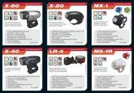 MX-1 MX-1R X-90 X-40 X-20 LR-4 - Evobike