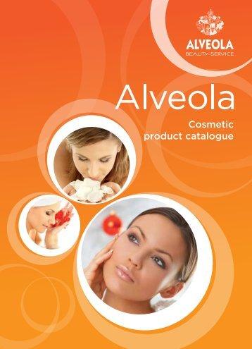 Cosmetic product catalogue - Alveola