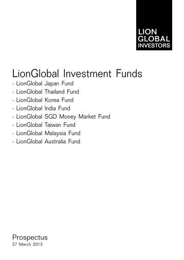 LionGlobal Investment Funds - Under Construction Home