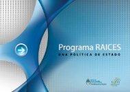 programa RAICES - del Centro de Documentación e Información ...