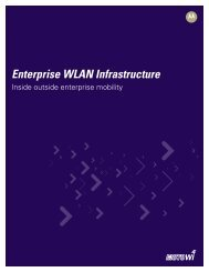 Enterprise WLAN Infrastructure