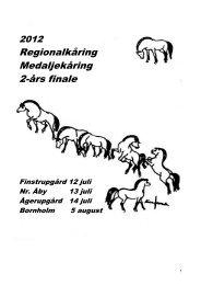 Katalog regionalk mm - Fjordhesten Danmark