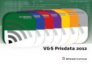 V&S Prisdata 2012 - Byggecentrum