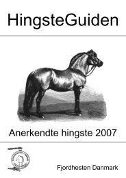 2007 - Fjordhesten Danmark