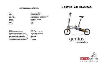 Mobiky használati utasítás(magyar) - Evobike