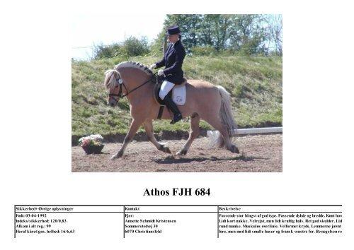 Athos FJH 684