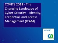 Changing Landscape of Cyber-Security