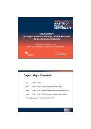 Dagen i dag – 3 moduler - MPG Strategi