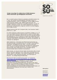 Der er varslet lockout af lærere og vejledere på ... - SOSU Sjælland