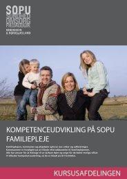 KOMPETENCEUDVIKLING PÅ SOPU FAMILIEPLEJE ...