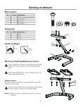 Power-Pak® 445 håndvægte system - Nautilus®, Inc. - Page 5