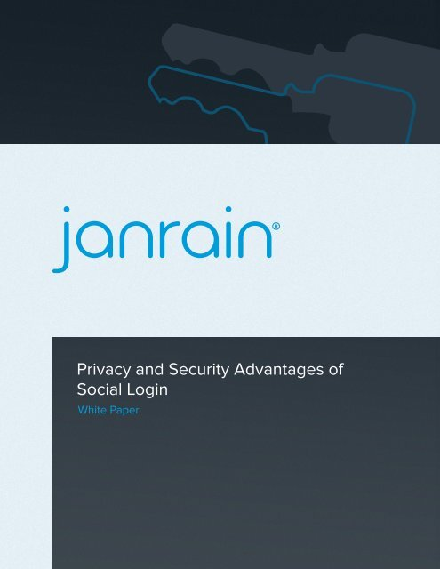 Privacy and Security Advantages of Social Login - Prisa Digital
