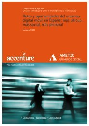 Retos y oportunidades del universo digital móvil en ... - Accenture