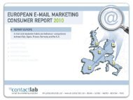 E-mail Marketing Consumer Report 2010 / United ... - Prisa Digital