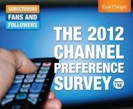 The 2012 Channel Preference Survey (PDF) - Prisa Digital