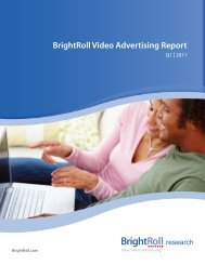 BrightRoll Video Advertising Report - Prisa Digital