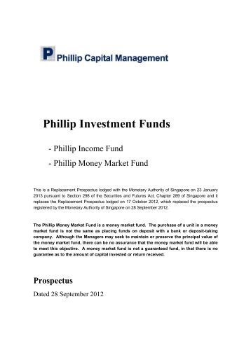 Phillip Investment Funds - Under Construction Home