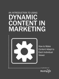 an IntRoDuctIon to usIng DYNAMIC CONTENT IN ... - Prisa Digital