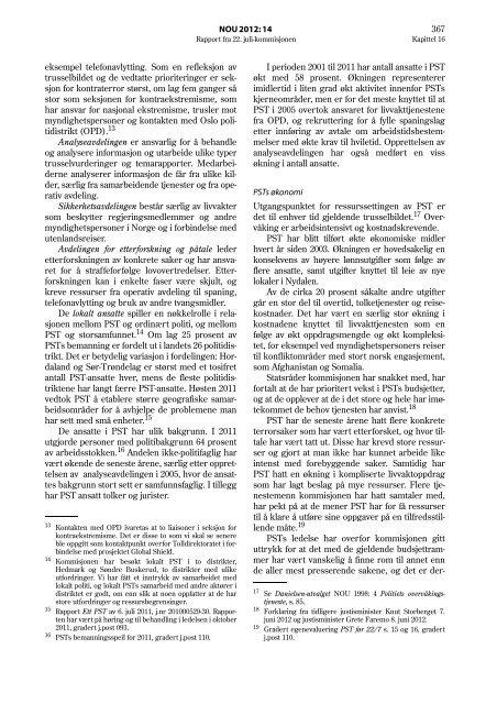 PSTs arbeid med å avdekke og avverge terrorisme - Dagbladet
