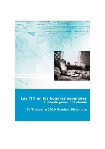 Las TIC en los hogares españoles - Prisa Digital