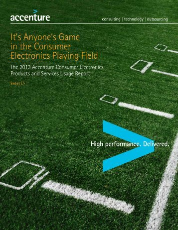 2013 Accenture Consumer Electronics Products and Services ...