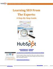 Learning SEO From The Experts - Prisa Digital