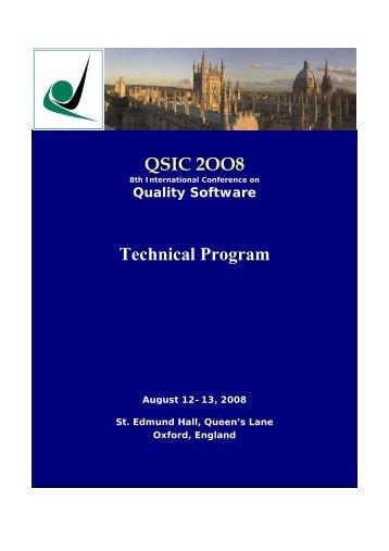 Final Program - Oxford Brookes University